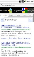 Screenshot of Underscore Medical Search