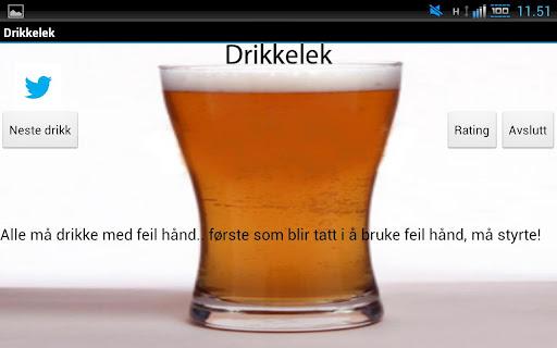 Drikkelek
