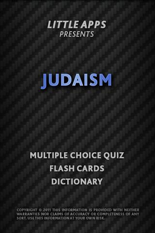 JUDAISM JEWISH Quiz Flashcards