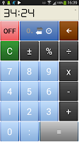 Screenshot of Time Calcul