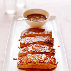 Salmon with Honey-Coriander Glaze