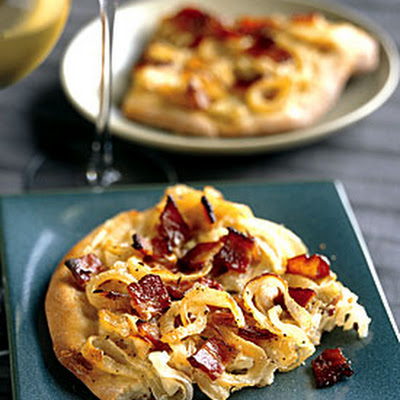 Onion and Bacon Tart