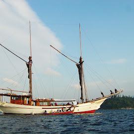 SY Silolona by Ilse Gibson - Transportation Boats ( sailing yacht, superyacht, indonesia, luxury cruising, thailand, phinisi )