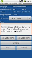 Screenshot of Ultimate Sales Dialer