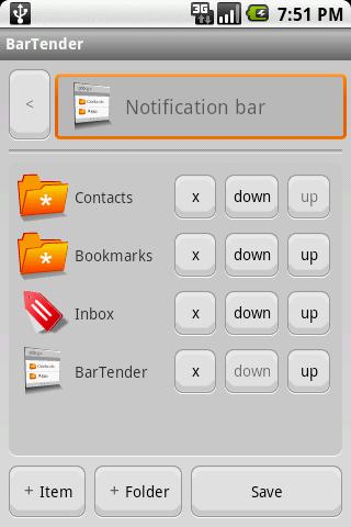 BarTender - Notifications Menu