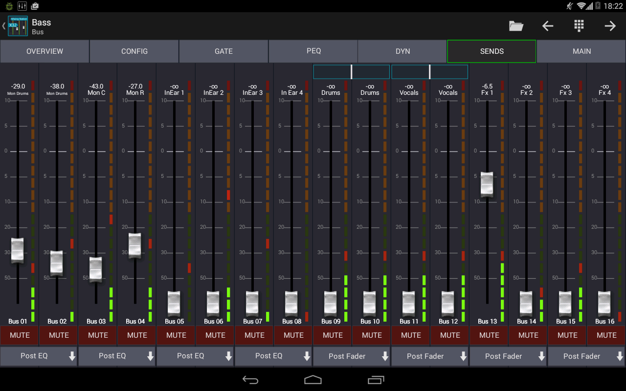 Mixing Station XM32 Pro Screenshot 6