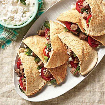 Lamb Pita Pockets