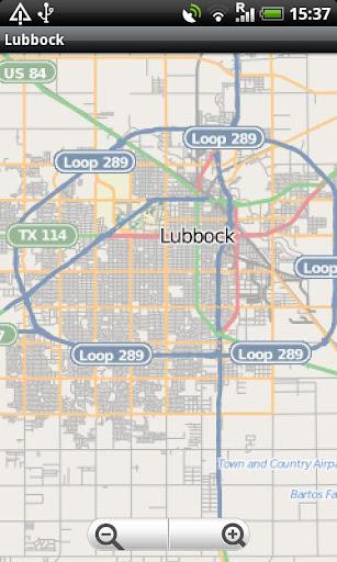 Lubbock Street Map
