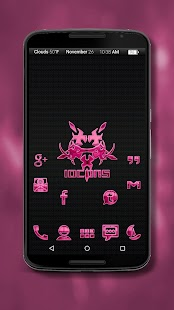 Iocons Pink - Icon Pack - screenshot