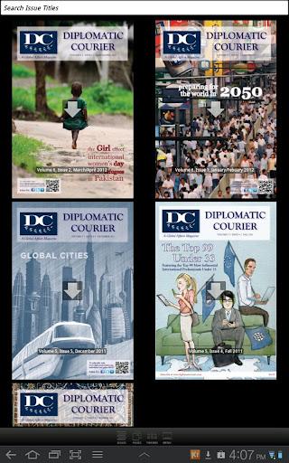 【免費新聞App】Diplomatic Courier-APP點子