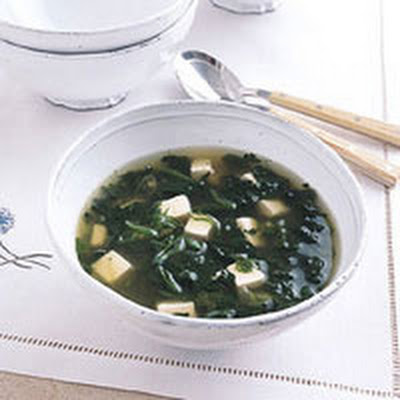 Spinach-Tofu Soup