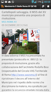 M5S Roma XV - screenshot
