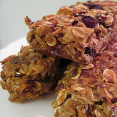 Cranberry Nut Energy Bars
