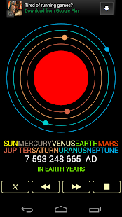 Planet Calendar - screenshot