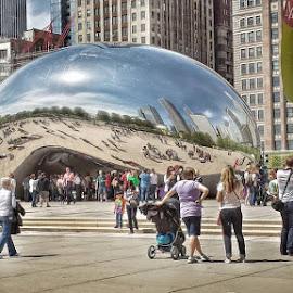the bean by Jon Radtke - City,  Street & Park  Neighborhoods ( the bean )