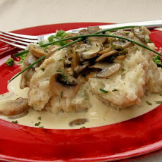 Mushroom Stroganoff With Mustard and Chive Mash