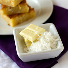White Chocolate-Coconut Brownies