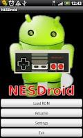 Screenshot of NESDroid