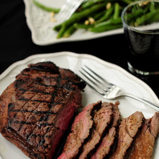 Grilled London Broil with Rum Molasses Sauce