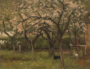 RIJKS: Geo Poggenbeek: painting 1903