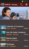 Screenshot of Lake Constance Travel Guide