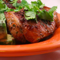 Recipe for Thai Barbecue Chicken with Cilantro