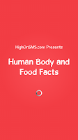 Screenshot of Human Body and Food Facts