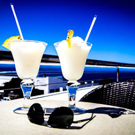 Pina Colada in Plett by Dawie Lombaard - Food & Drink Alcohol & Drinks ( plett, plettenberg, pina colada )