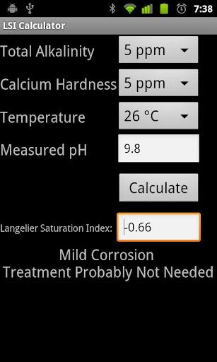LSI Calculator
