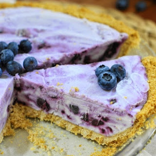 Blueberry Cream Pie Frozen Blueberries Recipes