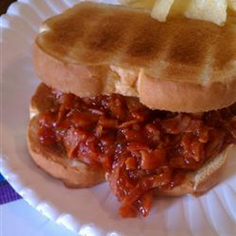 Pittsburgh Ham Barbecue Sandwich