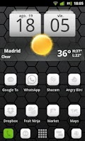Screenshot of LauncherPro Miui White Pack
