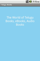 Screenshot of Telugu Books