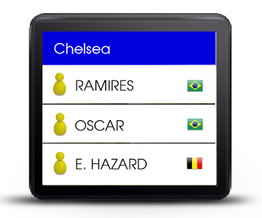 Soccer DB for Smartwatch 2 - screenshot