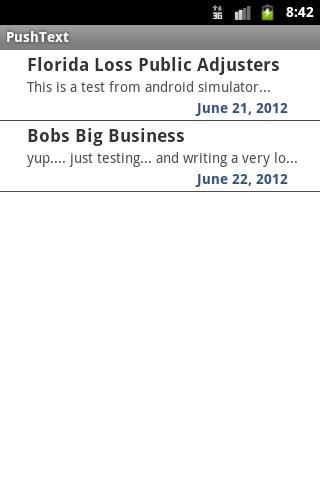 【免費通訊App】Push Text-APP點子