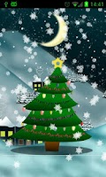 Screenshot of Christmas Tree Live Wallpaper★