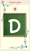 Screenshot of Kids Flashcards - ABC