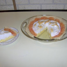 Yankee Grapefruit Meringue Pie