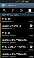 Screenshot of Wi-Fi Matic - Auto WiFi On Off