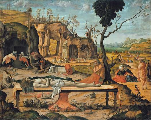 Carpaccio Vittore, Preparazione della tomba di Cristo