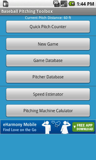 Baseball Pitching Toolbox