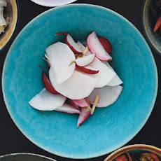 Pickled Daikon and Red Radishes with Ginger