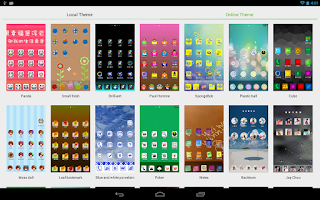 Screenshot of RUI Launcher for Tablet