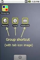 Screenshot of Group Apps