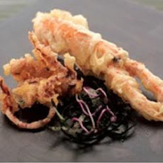 Beer Tempura Of Langoustine And Squid
