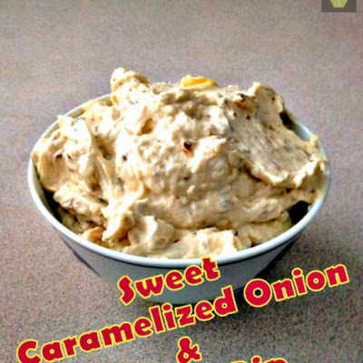 Sweet Caramelized Onion and Garlic Dip