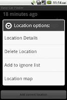 Screenshot of Easy Car Finder Free
