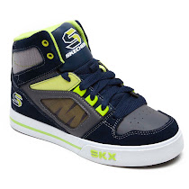 Skechers Yoke Skate Shoes TRAINERS