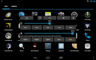 Screenshot of ScreenDim Trial