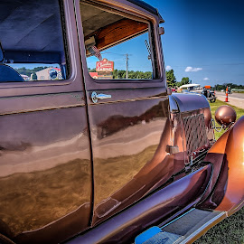 29 Ford by Ron Meyers - Transportation Automobiles